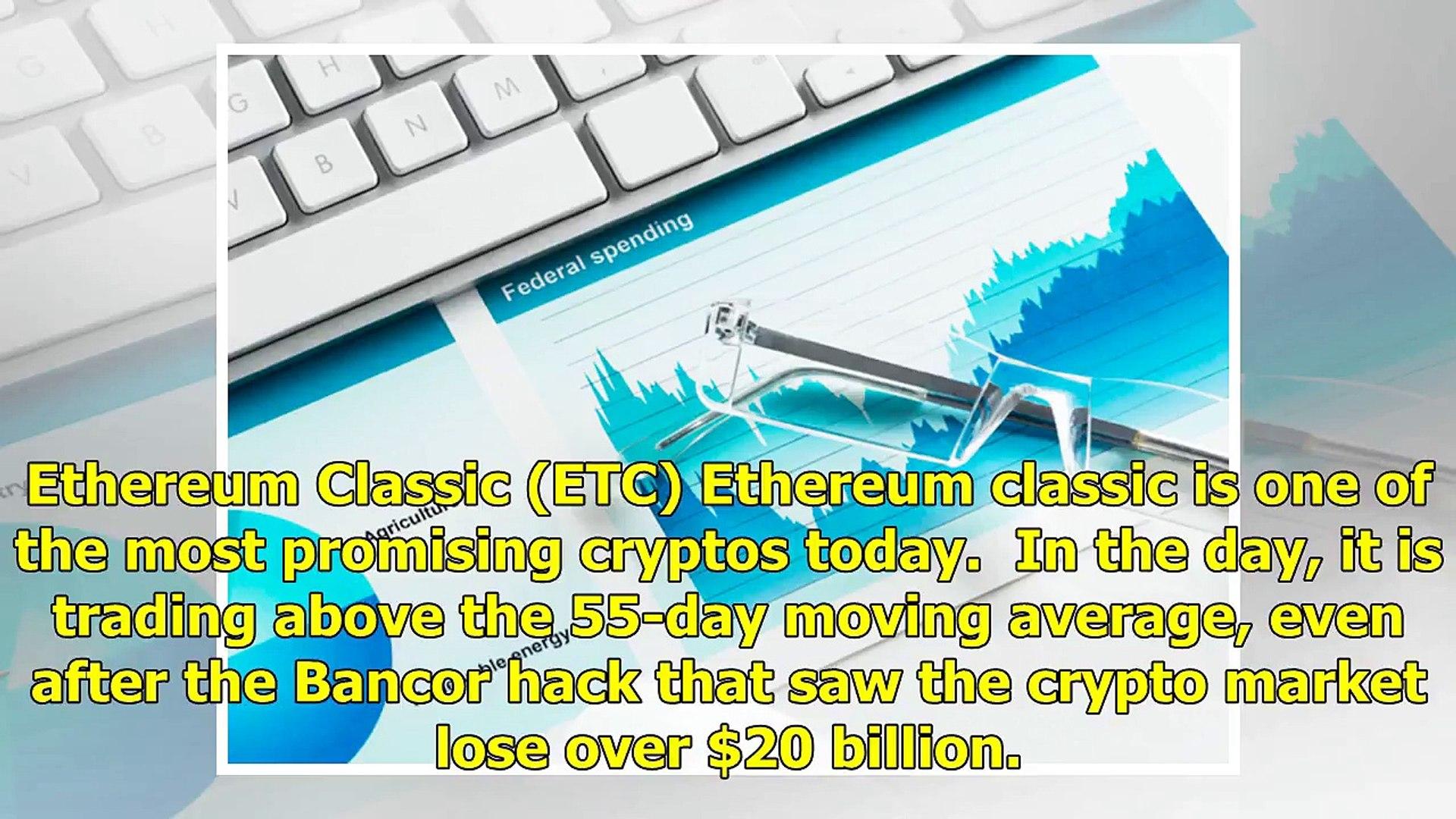 Ripple (XRP), Ethereum Classic (ETC) & Tron (TRX) technical analysis 12th July – ETC holding str
