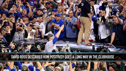 David Ross Explains How Positivity Helped His Career