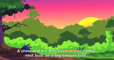 Panchatantra Hindi Animation Stories - Crow and Snake mp4 - video