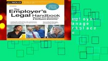 New Releases The Employer s Legal Handbook: Manage Your Employees   Workplace Effectively Complete
