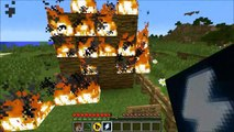 Minecraft: POWER UPS (SUPER SPEED, LIGHTNING, TNT ATTACKS, & MORE!) Mod Showcase