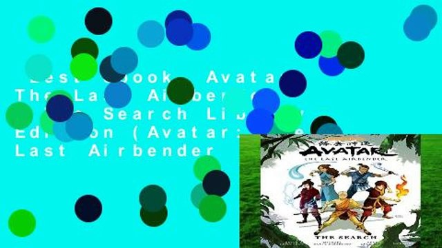 Best ebook  Avatar: The Last Airbender - The Search Library Edition (Avatar: The Last Airbender