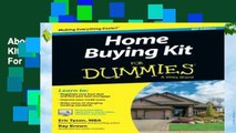 About For Books  Home Buying Kit FD 6E (For Dummies)  For Full