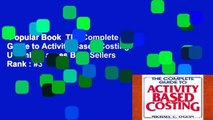 Popular Book  The Complete Guide to Activity-Based Costing Unlimited acces Best Sellers Rank : #3