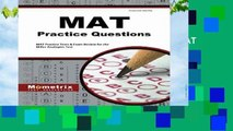 New Releases MAT Practice Questions: MAT Practice Tests   Exam Review for the Miller Analogies