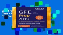 About For Books  GRE Prep 2019: Practice Tests + Proven Strategies + Online (Kaplan Test Prep)