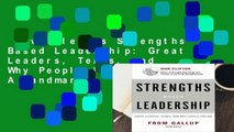 New Releases Strengths Based Leadership: Great Leaders, Teams, and Why People Follow: A Landmark