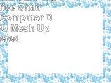 ALEKO ALC2324RED High Back Office Chair Ergonomic Computer Desk Chair PU  Mesh