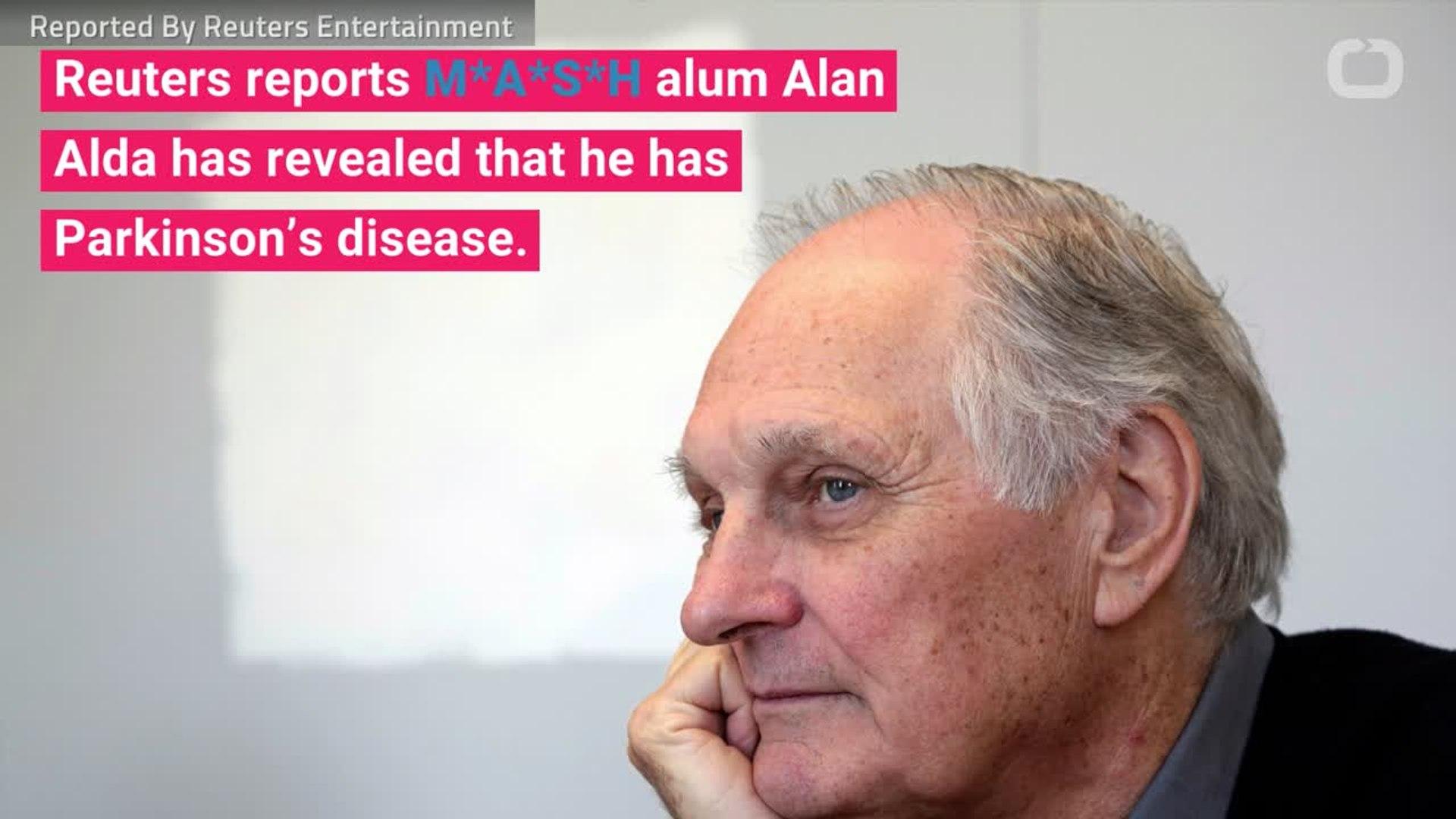 'M*A*S*H' Star Alan Alda Reveals Parkinson's Diagnosis