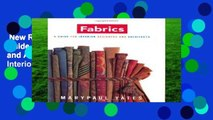 New Releases Fabrics: A Guide for Interior Designers and Architects: A Handbook for Interior
