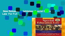 New Releases Wrightslaw: Special Education Law  For Full