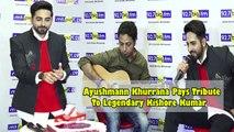 Ayushmann Khurrana Pays Tribute To Legendary Kishore Kumar On His 87th Birth Anniversary