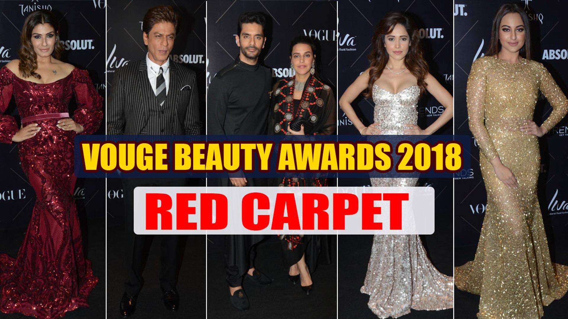 Vogue Beauty Awards 2018 Red Carpet UNCUT: Shahrukh, Vidya Balan, Manushi & others attend ।Filmi