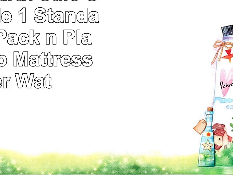 Harlows Earth Safe Sleep Bundle 1 Standard Size  1 Pack n Play Size Crib Mattress