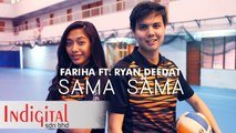 Fariha Ft. Ryan Deedat - Sama Sama (Official Lyric Video)