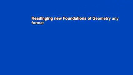 Foundations of Geometry Resource | Learn About, Share and
