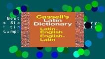 Best ebook  Cassell s Standard Latin Dictionary: Latin/English, English/Latin Complete