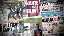 Le PSG va se battre pour N'Golo Kanté, Manchester United veut Zinedine Zidane comme prochain coach