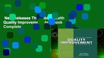 New Releases The Public Health Quality Improvement Handbook Complete