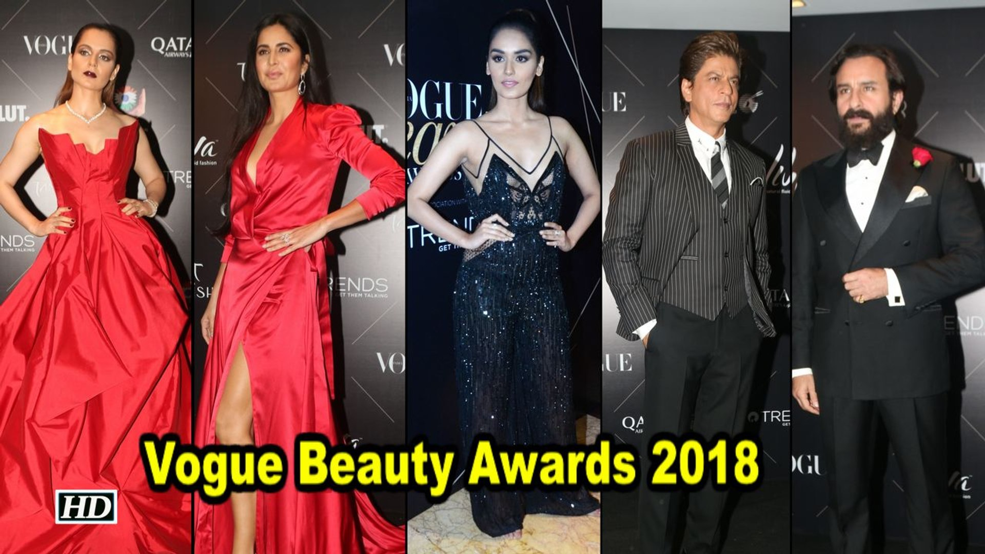 Vogue Beauty Awards 2018: Shah Rukh To Katrina, Celebs oozes Glamour