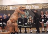 Move Over Michael Flatley - This Irish Dancing Dinosaur Is the True Lord of the Dance