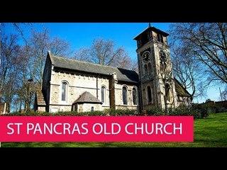 ST PANCRAS OLD CHURCH - UNITED KINGDOM, LONDON