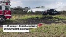 Mexique : 99 passagers survivent miraculeusement à un crash d'avion