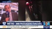 """Panne dans le métro: la RATP """"peut comprendre"""" la réaction des usagers qui ont décidé de descendre sur les voies"""