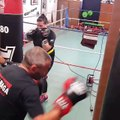 Krav Maga Street Defense Paris entrainement Cardio Boxing 2/2