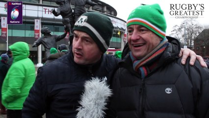 Ireland fans after Grand Slam...including an unexpected Mayo link  NatWest 6 Nations