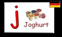 Learn ABC German alphabet Song (Deutsches Alphabet)