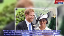 Duchess of Sussex at Ascot  How did Meghan Markle break the rules? Why did she not wear a name tag?