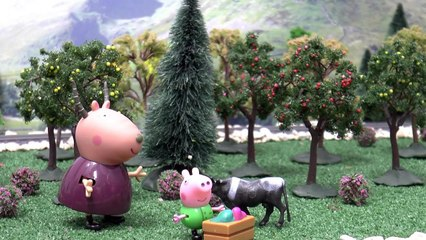 Peppa Pig English Episode with Minions   Thomas and Friends   George & the Beanstalk Toy J