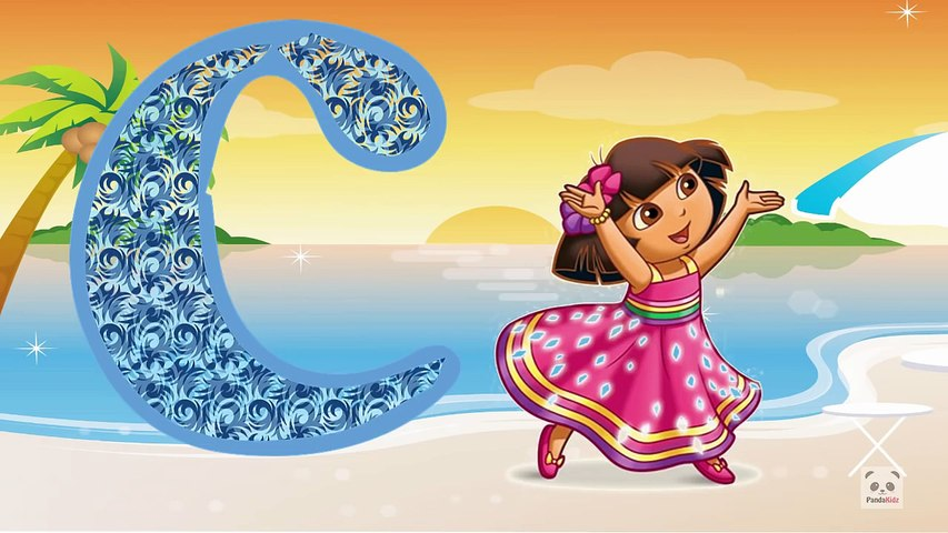Dora the Explorer ABC Song for Children   ABC Song Nursery Rhymes   Dora Abc Song for Baby