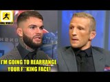 TJ Dillashaw and Cody Garbrandt absolutely trash eachother ahead of their bout this Saturday