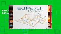 View EdPsych Modules Ebook EdPsych Modules Ebook