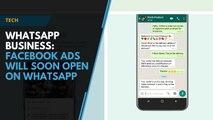 WhatsApp Business- Facebook ads will soon open on WhatsApp