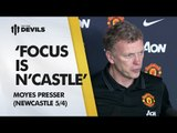 'Focus Is Newcastle' | Newcastle United vs Manchester United | Press Conference