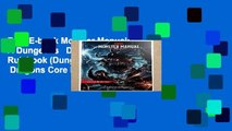 Best E-book Monster Manual: A Dungeons   Dragons Core Rulebook (Dungeons   Dragons Core Rulebooks)