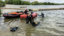 L'entraînement des chiens de sauvetage en mer