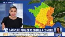 Canicule: Plus de 40 degrés à l'ombre