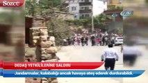 Silopi'de DEDAŞ yetkililerine saldırı