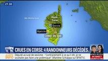 Quatre randonneurs décédés après la crue d'un canyon en Corse