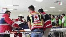 Mexique : les miraculés du crash de Durango