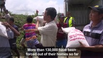 Relief efforts underway to help flood victims in Myanmar