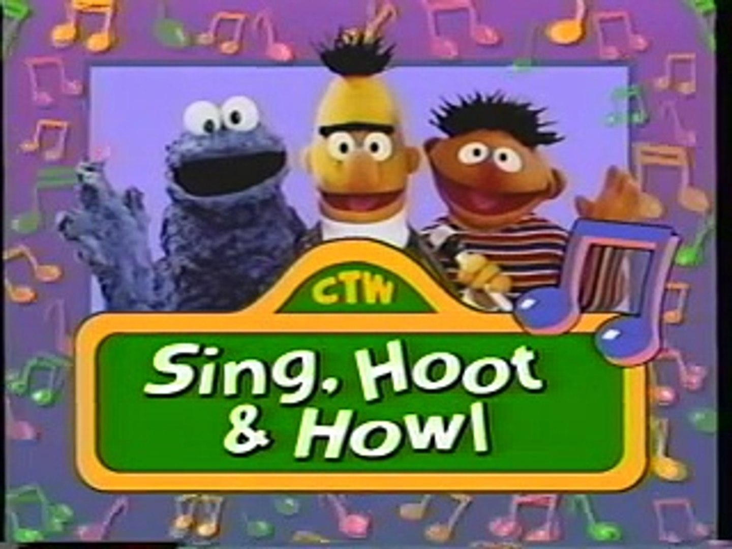 Opening & Closing To Sing, Hoot & Howl With The Sesame Street Animals  VHS(1996)
