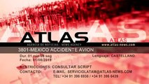 Un avión con 104 personas a bordo se estrella en Durango (México) sin víctimas mortales