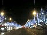 Champs Elysées illuminés NOEL 2007