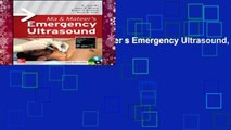 Best ebook  Ma and Mateer s Emergency Ultrasound, Third Edition  Unlimited