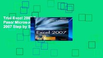 Trial Excel 2007 Paso a Paso/ Microsoft Office Excel 2007 Step by Step Ebook